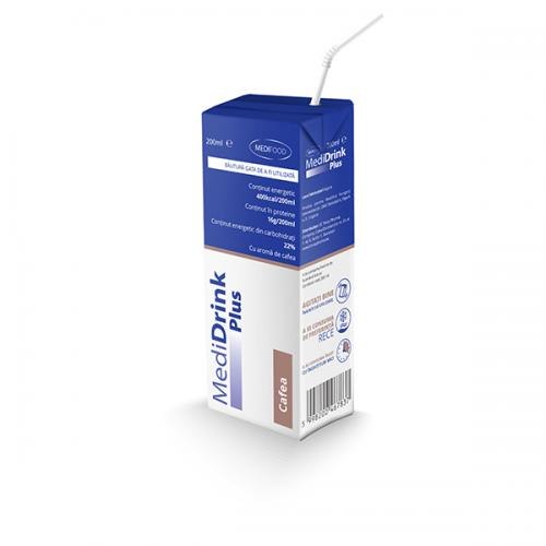 MEDIDRINK PLUS CAFEA, 200 ml